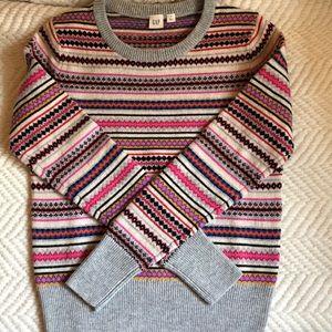 Gap Holiday Fair Isle Sweater